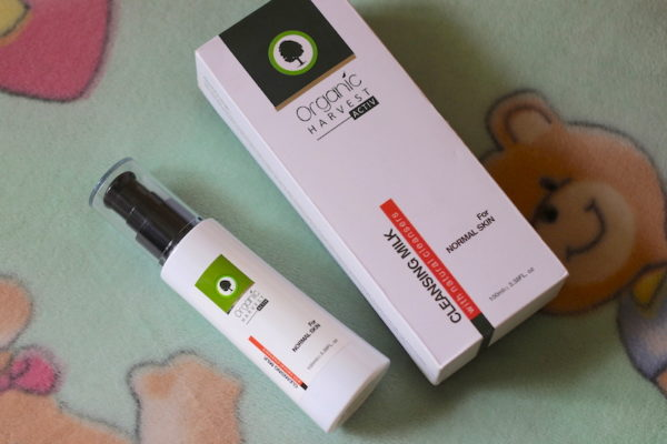 Organic Harvest Activ Cleansing Milk Normal Skin Review Price Photos