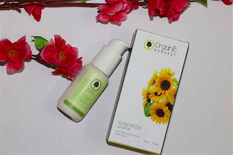 Organic Harvest Sunscreen SPF60 Review Price Photos