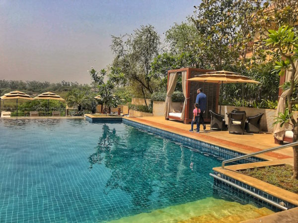iVivanta By Taj Surajkund - Staycation Experience & Review the infinity pool