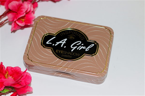 LA Girl Naturally Beautiful Inspiring Eyeshadow Tin Review