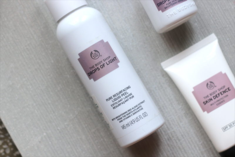 The Body Shop Drops of Light Pure Resurfacing Liquid Peel Review price photos