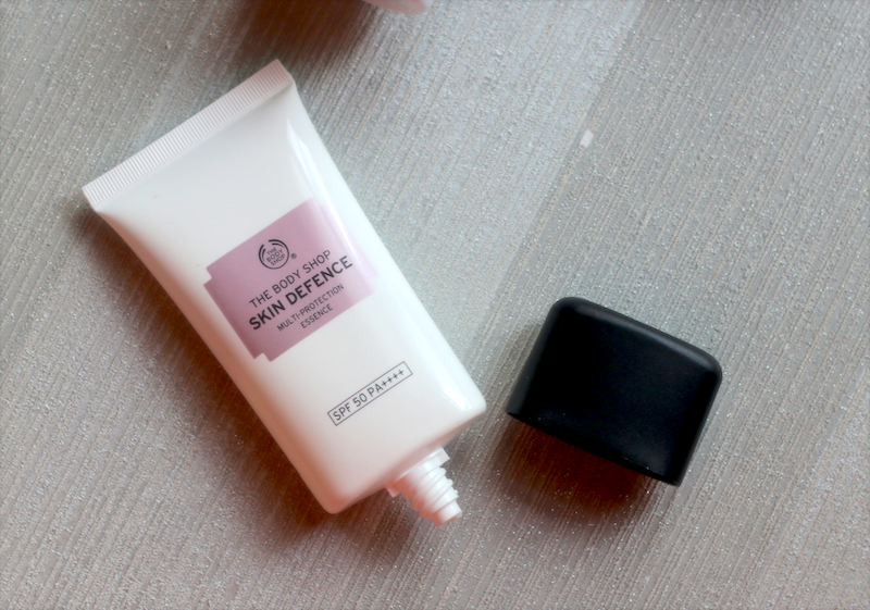 The Body Shop Skin Defence Multi Protection Essence SPF50 Review