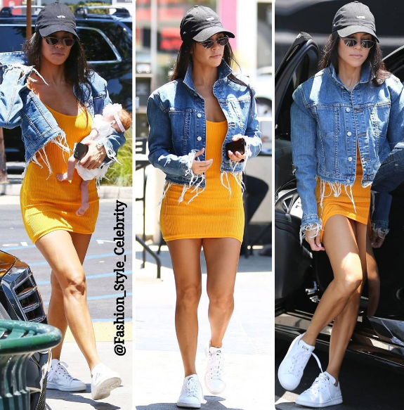 f82fc6020fd Best Celeb Style of summer 2017. Kourtney Kardashian