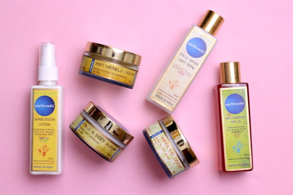 Earthvedic Skincare & Haircare Products