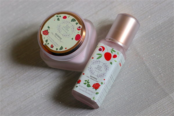 Nyassa Rose & Lychee Face Gel, Face Cream Review Photos