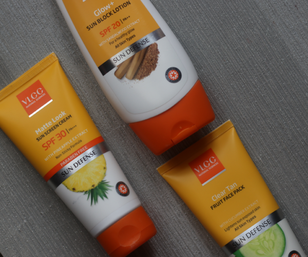 VLCC Matte Look Sun Screen Cream, Glow+ Sun Block Lotion Review