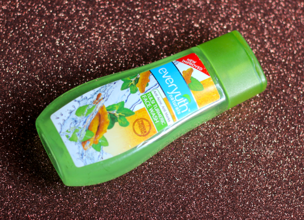 Everyuth Tulsi Turmeric Face Wash Review Photos Price