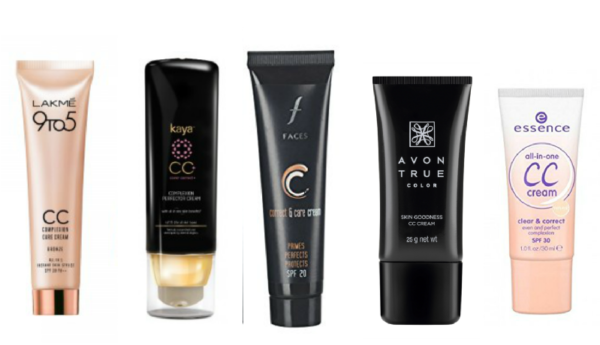6 CC creams Available In India For 5 Minute Makeup Routine