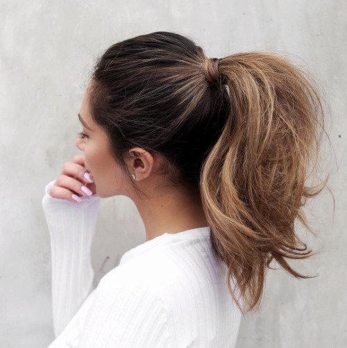 10 ways to step up your ponytail game