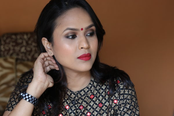 Diwali Makeup Look Featuring Faces Cosmetics- Step By Step