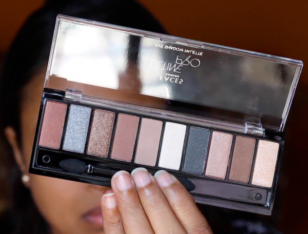 Faces Ultime Pro Eye Shadow Palette Nude 01 Review Swatches Photos