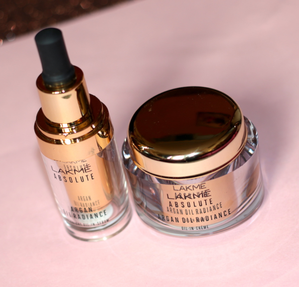 Lakmé Argan Oil Radiance Overnight Oil in Serum & Cream Review