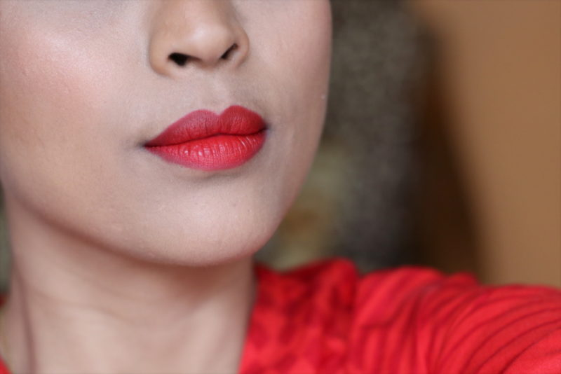 Maybelline Color Jolt Matte Intense Lip Paints Vamp Red Review Swatches Photos