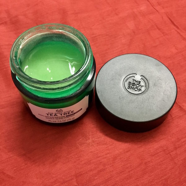 The Body Shop Tea Tree Anti Imperfection Night Mask Review & Regime