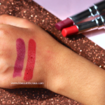Colorbar Kiss Proof Lipstick Review Swatches Photos – Be Ready, Plum Shot