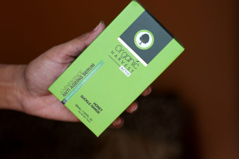 Organic Harvest Anti Ageing Serum - Juvenescence Review Swatches Photos