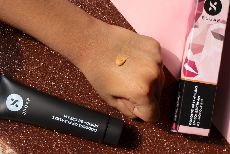 Sugar BB Cream Goddess Of Flawless SPF30+ Review Swatches Photos