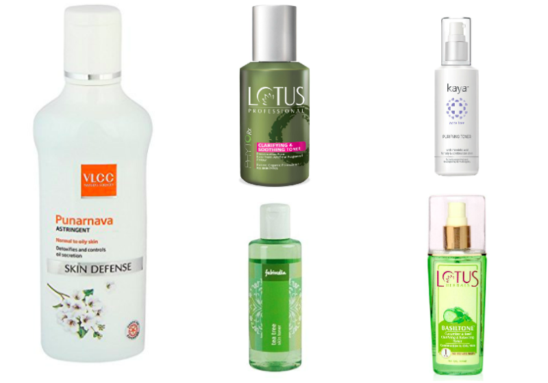 10 Best Toners Astringents For Oily Skin In India