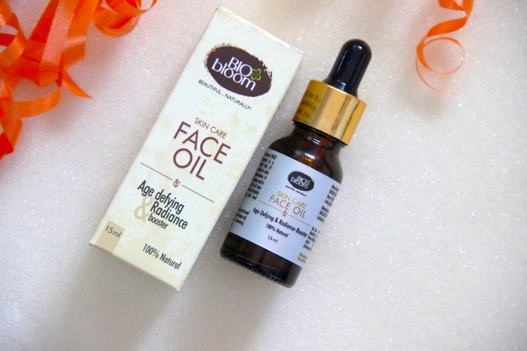 Biobloom Face Oil Age Defying & Radiance Booster Review
