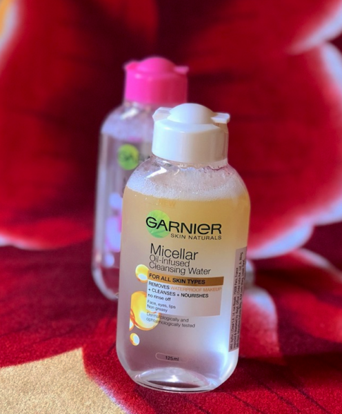 Garnier Micellar Oil Infused Cleansing Water Review price photos