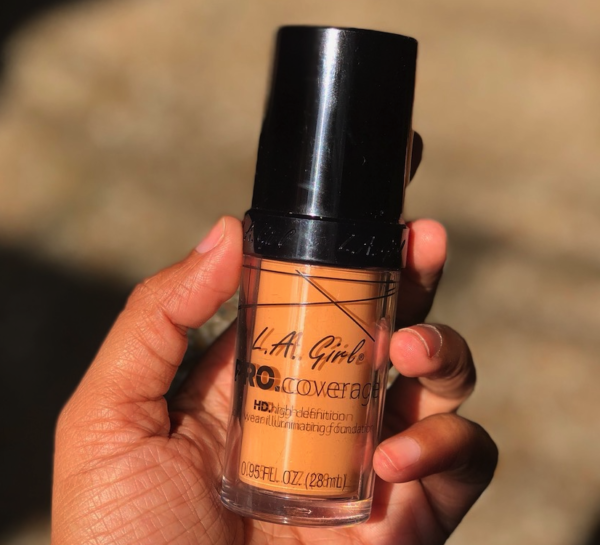L.A Girl Pro Coverage HD Illuminating Liquid Foundation Review