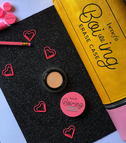 Benefit Boi-ing Airbrush Concealer 03 Review Swatches Photos