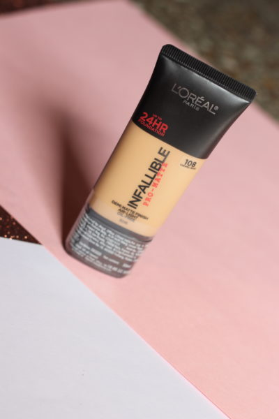 L'Oreal Infallible Pro Matte Foundation Review Photos Price