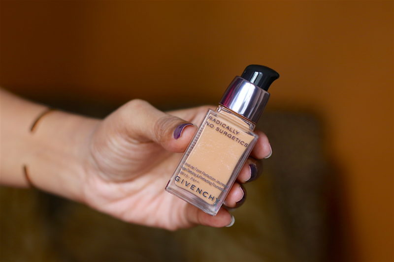 Givenchy Radically No Surgetics Age Defying & Perfecting Foundation Review