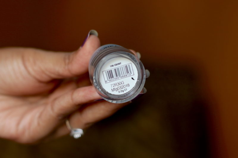 L'Oreal Brow Artist Pomade Ebony Review Swatches Photos