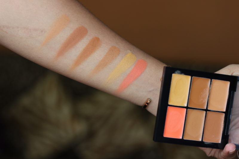 PAC Concealer Palettes Go Light Review Swatches Photos