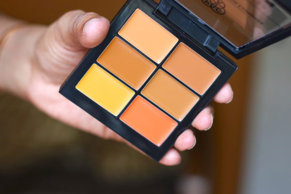 PAC Concealer Palettes Go Deep Review Swatches Photos