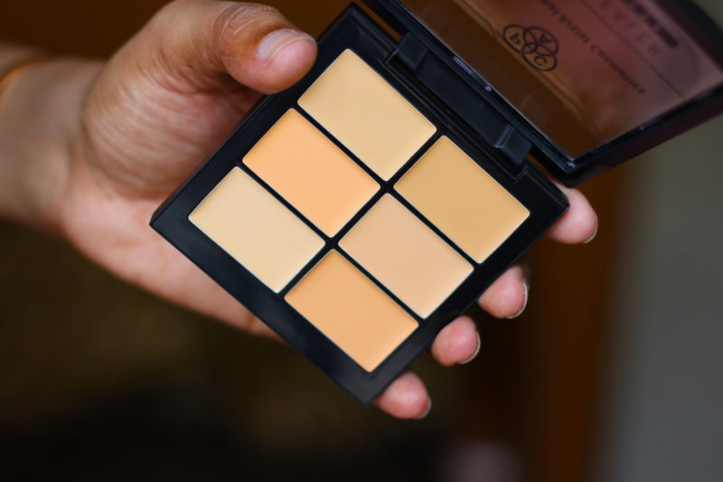 PAC Concealer Palettes Go Light & Go Deep Review Swatches Photos
