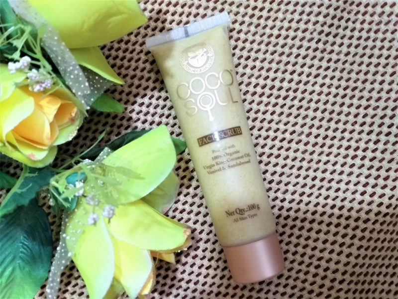 Coco Soul Face Scrub with Virgin Coconut Oil Review Photos Price