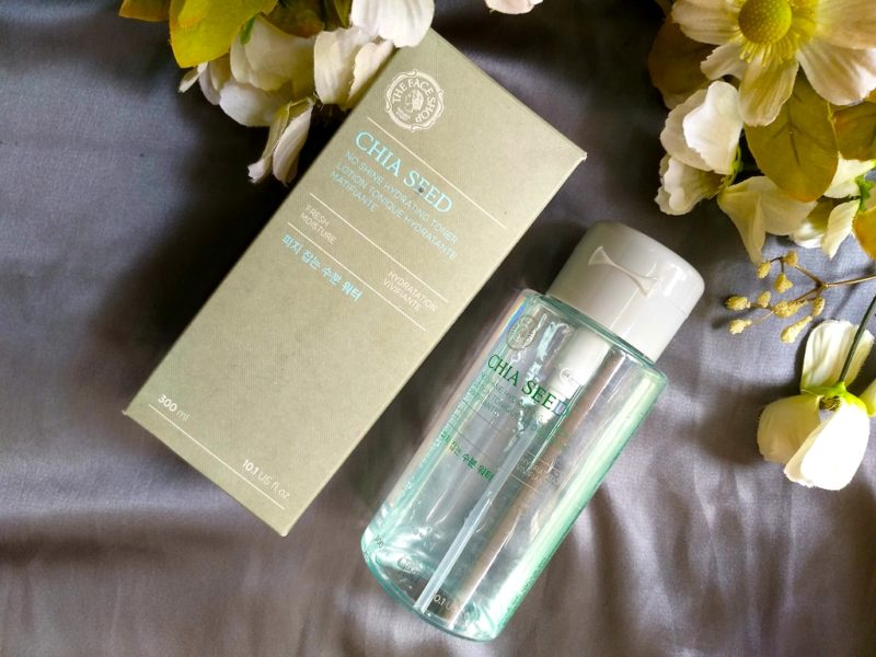 The Face Shop Chia Seed No Shine Hydrating Toner