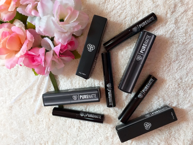 PAC Pure Matte Lipstick Review Swatches Price Photos