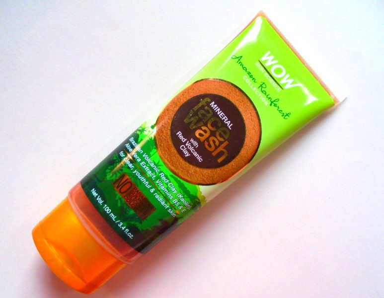 WOW Skin Science Mineral Face Wash Review Photos Price