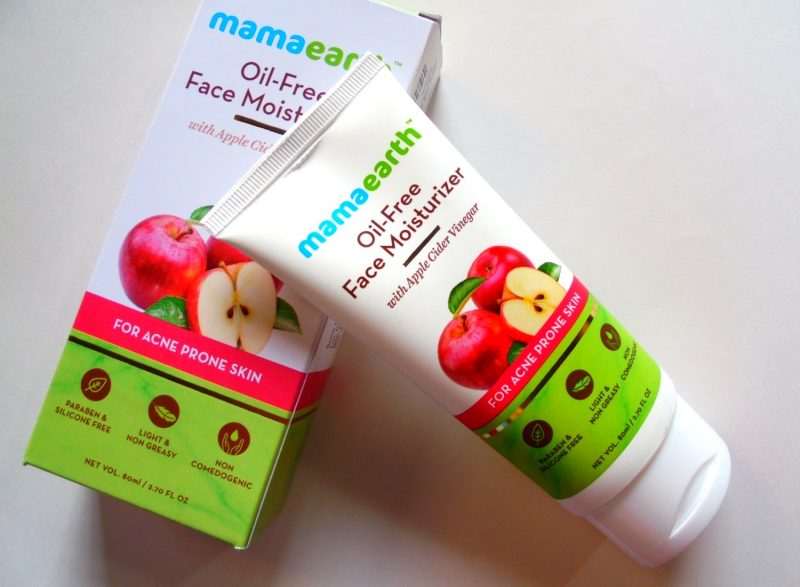 Mamaearth Oil Free Moisturizer with Apple Cider Vinegar Review