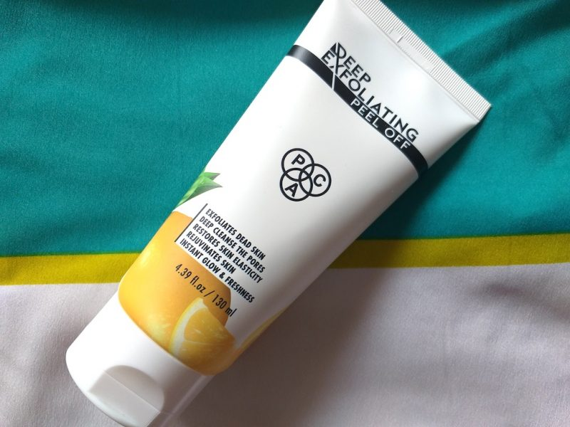 PAC Deep Exfoliating Peel Off Review Photos Price