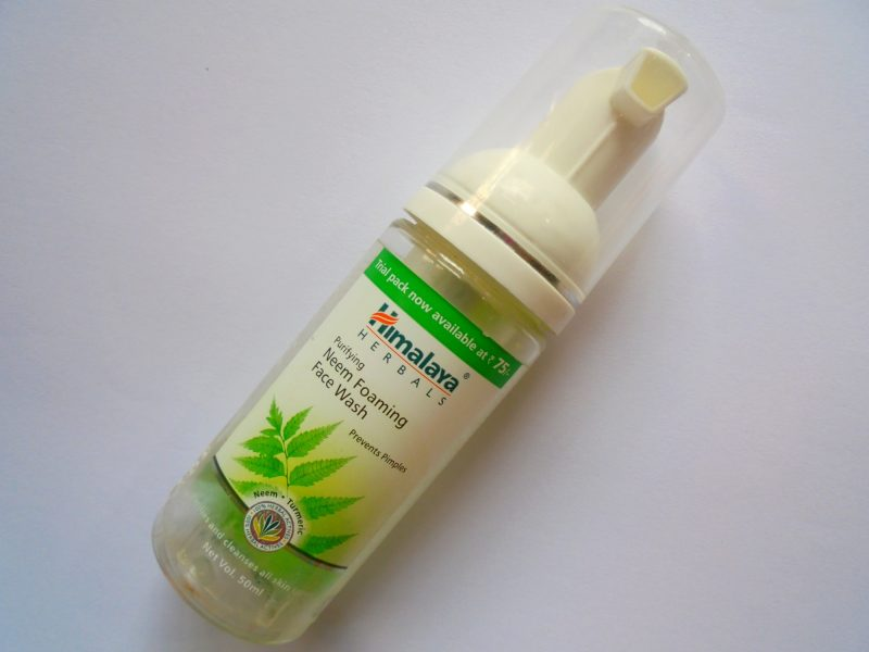 Himalaya Herbals Purifying Neem Foaming Face Wash Review