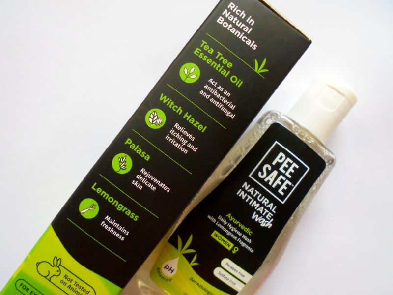 Pee Safe Natural Intimate Wash review photos price