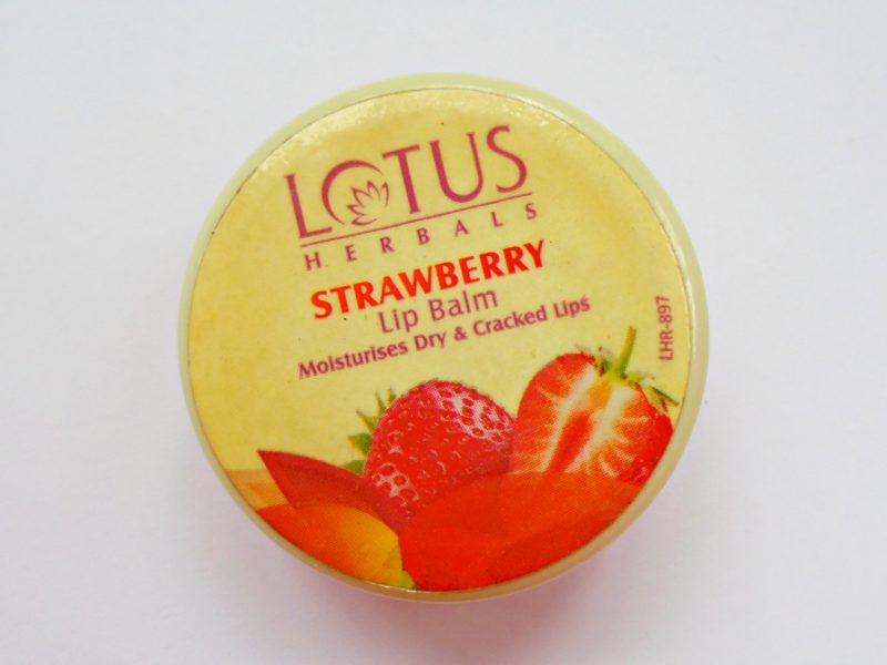 Lotus Herbals Strawberry Lip Balm Review Photos Price