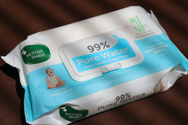 Mother Sparsh 99% Pure Unscented Water Wipes